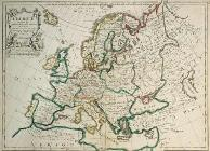 Map of Europe , Le Rouge 1746.