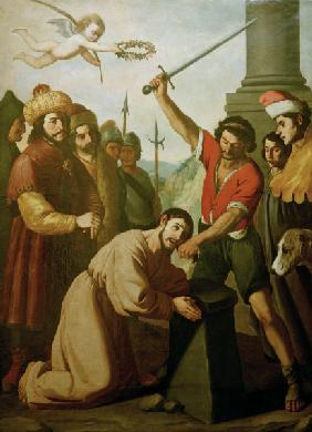 F.de Zurbarán, Martyrdom of St James