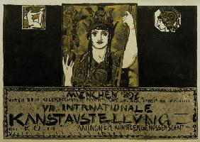 F.v.Stuck/Secession Exhib.Poster/1897