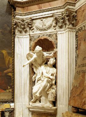 Habakkuk and the angel / Bernini / 1657