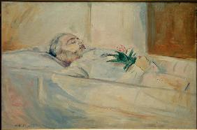John Hazeland on his Deathbed