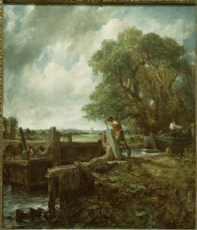 John Constable / The lock / 1824