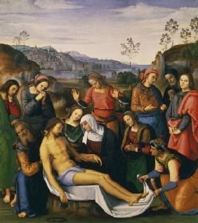 Lamentation of Christ / Perugino
