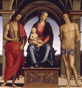 Madonna, Child & Saints / Perugino
