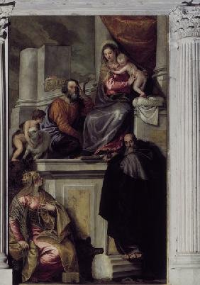 Madonna, Child & Saints / Veronese