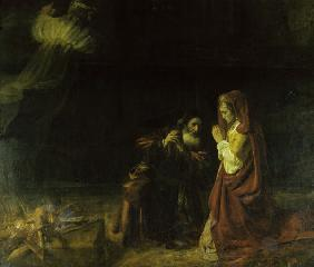 Manoah s Offering / Rembrandt / 1641