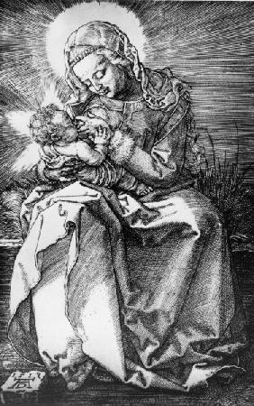 Mary suckling the Child / Dürer / 1512