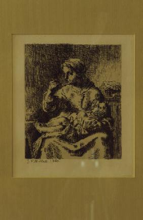 Millet / The Porridge / Etching