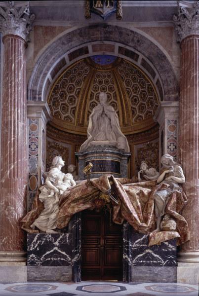 Pope Alexander Vii Tomb Gianlorenzo Bernini As Art