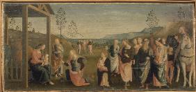 Perugino / Adoration of the Kings / Ptg.