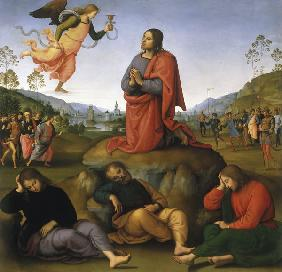 Perugino, Christ on Mount of Olives