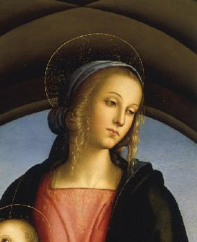 Perugino, Head of Mary