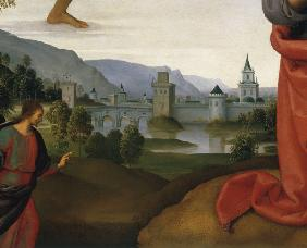 Perugino, Landscape with Judas