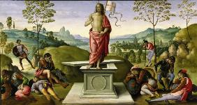 Perugino, Resurrection of Christ / Ptg.