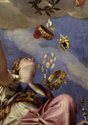 P.Veronese, Venetia and Juno /painting