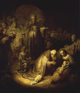 Rembrandt / Adoration of the Magi / 1632