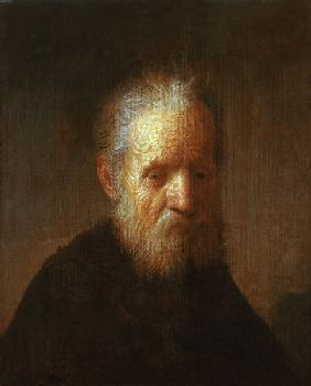 Rembrandt / Portrait of an old man