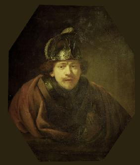 Rembrandt / Self-portrait / Kassel
