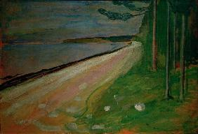 Munch, Beach near Asgardstrand