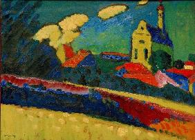 Murnau Study - Landscape with Church
