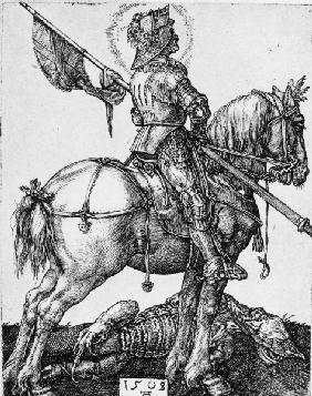Saint George on horseback / Dürer / 1508