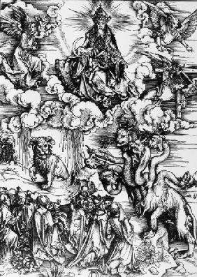 Seven-headed beast / Dürer / 1497/98
