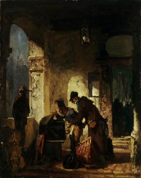 Spitzweg / Customs Revision / c. 1880