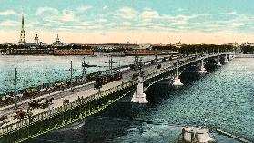 St Petersburg , Trinity Bridge
