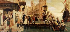 The Departure Of The Prodigal Child From Venice