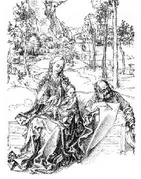 The Holy Family / Dürer