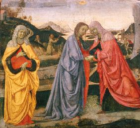 The Visitation / Perugino / c.1472/75
