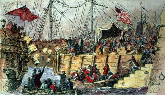 Boston Tea Party In ColorTeaPrintable Coloring Pages Free Download