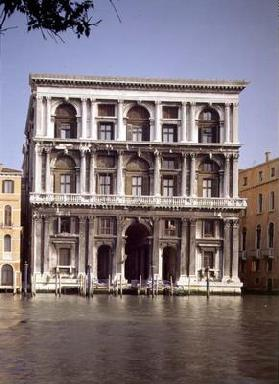 The Facade, designed by Michele Sanmicheli (1484-1559) and built by Giangiacomo dei Grigi (photo)