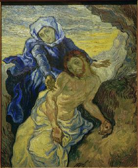Van Gogh after E.Delacroix, Pietà