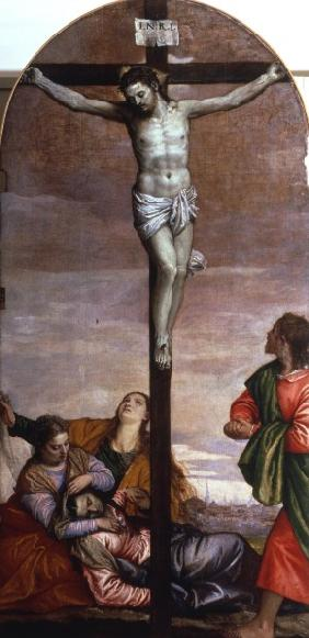 Veronese / Crucifixion / Paint./ C16th