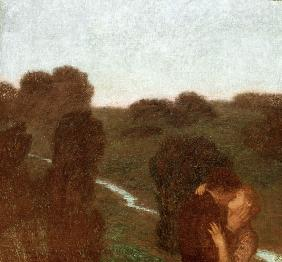 v.Stuck / The evening star / c.1912