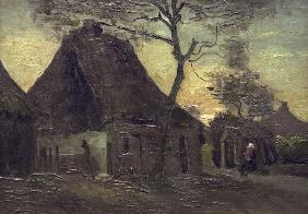 V.van Gogh, Cottage in Nuenen / Paint.
