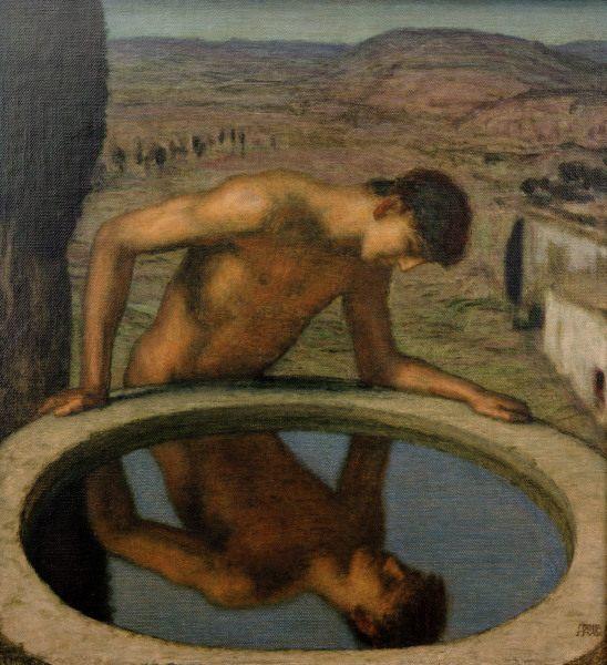 Image: Franz von Stuck - v.Stuck / Narcissus / c.1926