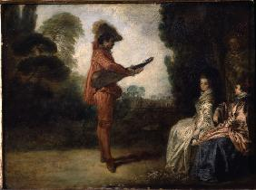 Watteau / L Enchanteur / c.1713/14