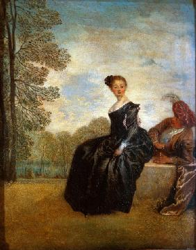 Watteau / Pouting Woman (Moody Woman)