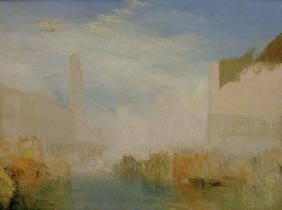 W.Turner, Venice, Marriage of the Doge