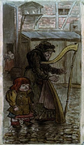 Zille / The Harp Lady / 1903