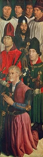 Panel of the Knights, from the Polyptych of St. Vincent, c.1465