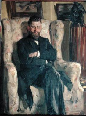 Portrait of the collector Alexei A. Bakhrushin (1865-1929)