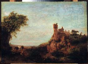 Landscape with a castle