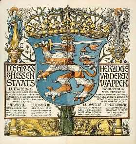 The Grand Dukes of Hesse and their national emblem