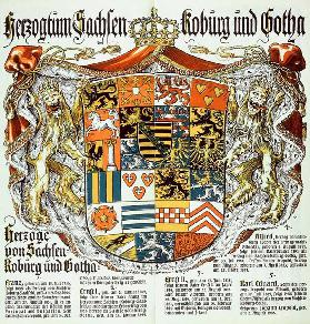 Duchy of Saxony Koburg and Gotha / Duke of Saxony-Koburg and Gotha