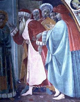 The Dispute of St. Stephen, detail of The Saint Preaching, from the Cappella dell'Assunta (Chapel of