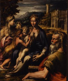 Madonna and Child with Saint (Madonna di San Zaccaria)