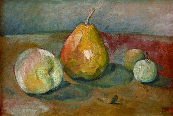Still Life With Pears Paul C 233 Zanne As Art Print Or